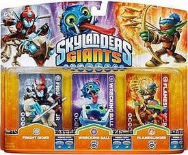Skylanders GIANTS Figure 3-Pack Fright Rider, Wrecking Ball & Flameslinger