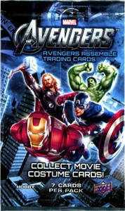 Upper Deck Marvel Avengers Assemble Trading Card Pack