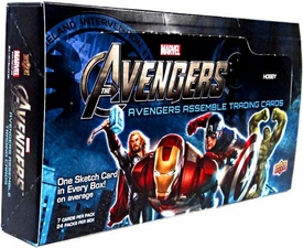 Upper Deck Marvel Avengers Assemble Trading Card Box [24 Packs]