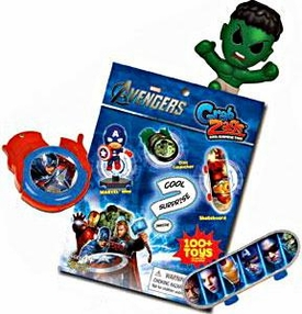 Avengers Movie Grab Zags Booster Pack [1 RANDOM Surprise Mini Figure!]