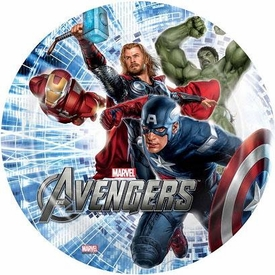 Avengers 8 Inch Plate