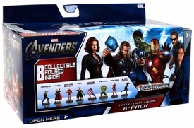 Marvel Collectible Figure 8-Pack The Avengers [Hawkeye, Thor, Iron Man, Loki, Captain America, Hulk, Iron Man & Black Widow]
