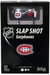 iHip NHL Hockey Sports Earphones Montreal Canadiens LOGO Earbuds