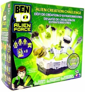 Ben 10 Alien Force Playset Alien Creation Challenge BLOWOUT SALE!