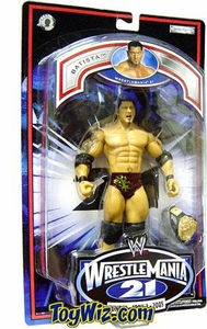 WWE Jakks Pacific Wrestlemania XXI 21 Exclusive Series 2 Action Figure Batista