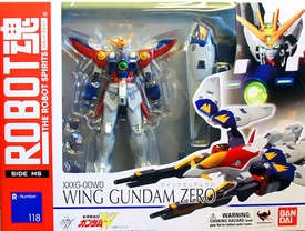 Robot Damashi Gundam Wing Action Figure Wing Gundam Zero