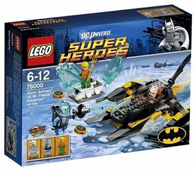 LEGO DC Universe Super Heroes Set #76000 Arctic Batman vs. Mr. Freeze: Aquaman on Ice