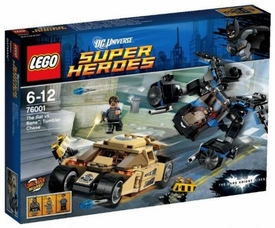 LEGO DC Universe Super Heroes Set #76001 The Bat vs. Bane Tumbler Chase