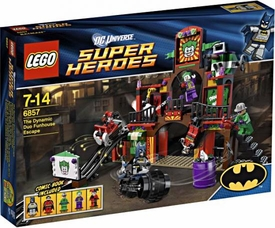 LEGO DC Universe Super Heroes Exclusive Set #6857 Dynamic Duo Funhouse Escape