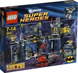 LEGO DC Universe Super Heroes Set #6860 The Batcave