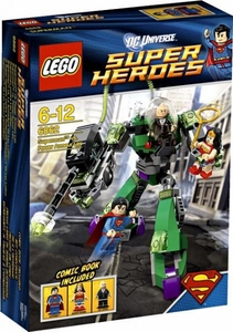 LEGO DC Universe Super Heroes Set #6862 Superman vs. Power Armour Lex