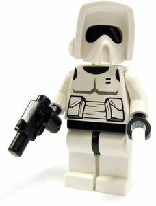 LEGO Star Wars LOOSE Mini Figure Scout Trooper with Blaster Pistol