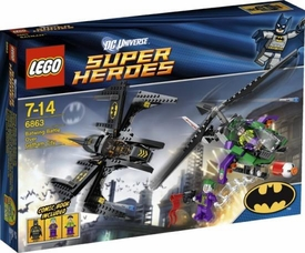 LEGO DC Universe Super Heroes Set #6863 Batwing Battle Over Gotham City