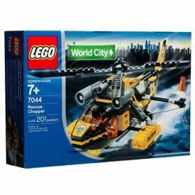 LEGO City Set #7044 Rescue Chopper