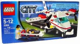 LEGO City Set #2064 Air Ambulance Rescue Plane