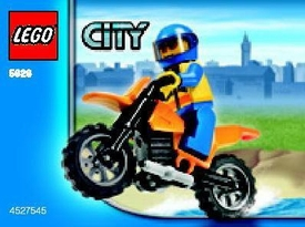 LEGO City Set #5626 Coast Guard Bike [Bagged]