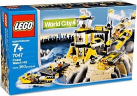 LEGO City Set #7047 Coast Watch HQ