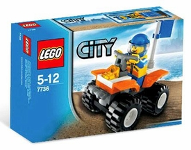 LEGO City Set #7736 Coast Guard Quad Bike
