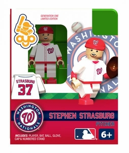 OYO Baseball MLB Building Brick Minifigure Stephen Strasburg [Washington Nationals]