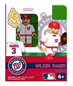 OYO Baseball MLB Building Brick Minifigure Wilson Ramos [Washington Nationals]