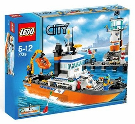 LEGO City Set #7739 Coast Guard Patrol Boat & Tower