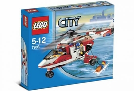LEGO City Set #7903 Rescue Helicopter