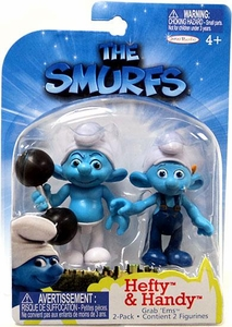 The Smurfs Movie Grab 'Ems Mini Figure 2-Pack Hefty & Handy