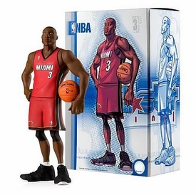 Upper Deck Authenticated All Star Vinyl Figure Dwyane Wade (Red Away Jersey) Limited to 1500 Pieces BLOWOUT SALE!
