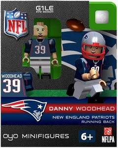 OYO Football NFL Building Brick Minifigure Danny Woodhead [New England Patriots]