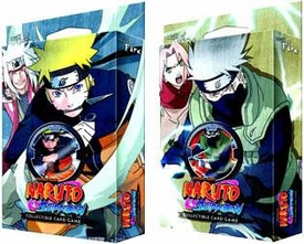 Naruto Shippuden Card Game Set of Both Will of Fire Theme Decks [Naruto & Kakashi]