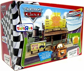 Disney / Pixar CARS Movie Exclusive Playset Radiator Springs Curio Shop