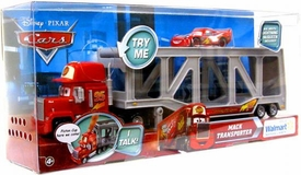 Disney / Pixar CARS Movie Exclusive Talking Mack Transporter with Random Lightning McQueen