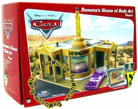 Disney / Pixar CARS Movie Toy Playset Ramone's House of Body Art [Random Package] Slightly Worn Package, Mint Contents!