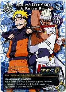 Naruto Card Game Shonen Jump Promo Single Card PR066 Naruto Uzumaki & Killer Bee BLOWOUT SALE!
