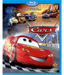 Disney / Pixar Blu-Ray Movie DVD CARS