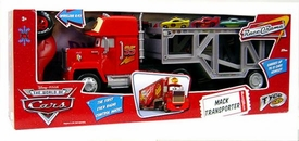 Disney / Pixar CARS Movie Deluxe Tyco R/C Mack Transporter Impossible to Find!