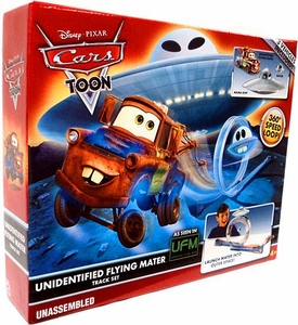 Disney / Pixar CARS TOON Playset Unidentified Flying Mater Track Set [Includes Plastic Mater & Mator UFO]