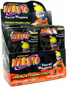 Naruto Inkworks Secret Weapons Trading Card Box