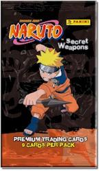Naruto Inkworks Secret Weapons Trading Card Pack