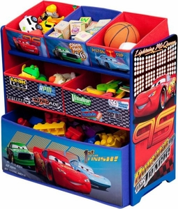 Disney / Pixar CARS Movie Multi-Bin Toy Organizer