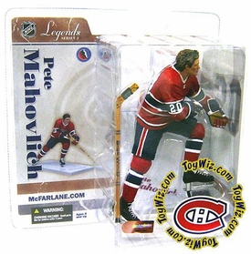 McFarlane Toys NHL Sports Picks Legends Series 3 Action Figure Pete Mahovlich (Montreal Canadiens)