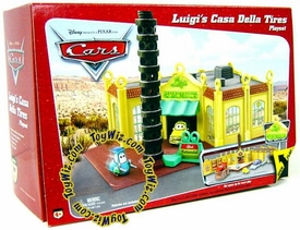 Disney / Pixar CARS Movie Playset Luigi's Casa Della Tires [Original Package!]