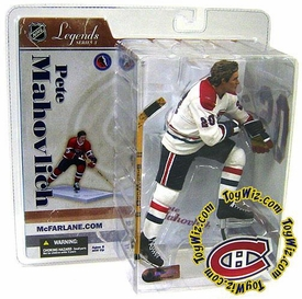 McFarlane Toys NHL Sports Picks Legends Series 3 Action Figure Pete Mahovlich (Montreal Canadiens) White Jersey Variant