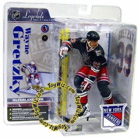 McFarlane Toys NHL Sports Picks Legends Series 3 Action Figure Wayne Gretzky (New York Rangers) Blue Liberty Jersey Variant