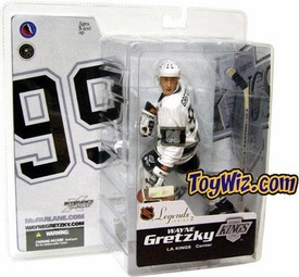 McFarlane Toys NHL Sports Picks Legends Series 2 Action Figure Wayne Gretzky (Los Angeles Kings) White Jersey