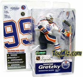 McFarlane Toys NHL Sports Picks Legends Series 2 Action Figure Wayne Gretzky (Edmonton Oilers) White Jersey Variant