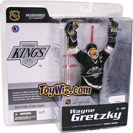 McFarlane Toys NHL Sports Picks Legends Series 1 Action Figure Wayne Gretzky (Los Angeles Kings) Black Jersey