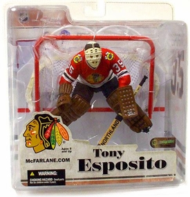 McFarlane Toys NHL Sports Picks Legends Series 3 Action Figure Tony Esposito (Chicago Blackhawks)
