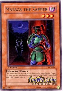 YuGiOh Invasion of Chaos Single Card Rare IOC-086 Mataza the Zapper