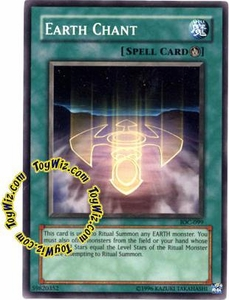 YuGiOh Invasion of Chaos Single Card Common IOC-099 Earth Chant